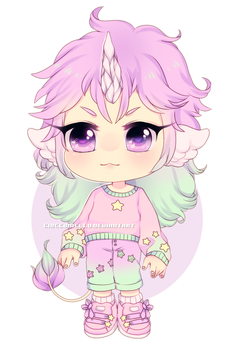 Chibi Unicorn by cioccoMELLO