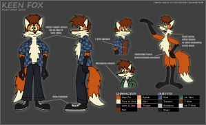 Keen Model Sheet by FreyFox