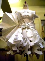 paper dress by esthersutopia