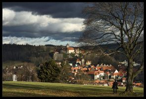 my native town - KRONACH by mescamesh