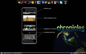 Ipodtouch chronicles skin beta by syarawi
