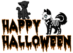 Happy Halloween - Free to use by Undead-Academy