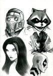 Guardians of the Galaxy by DoctorDraw