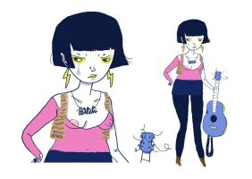Gangley Girl by perfectnoseclub