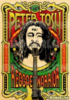 Peter Tosh Reggae Warrior by roberlan
