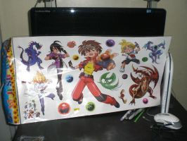 Bakugan Wall Sticker by Kyouseme-Arasaki