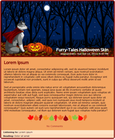 Furry-Tales Halloween journal skin by Stygma
