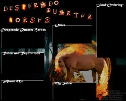 Desperado Quarter Horses Fire Layout by Thunderbolt-Designs