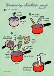 Quick Food: Rosemary Chickpea Soup by Majnouna