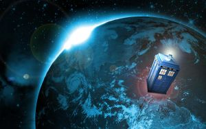 The Tardis by MJaaay