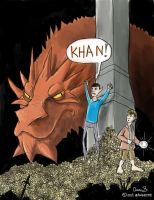Khaaan! (Parody hybrid of Star Trek and Hobbit) by maugryph
