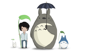 Totoro and friends by Joanna-May