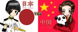 APH_Japan vs China by Haoiki
