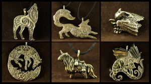 New pendants by hontor