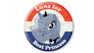 Luna for Best Princess! by thechosenone12
