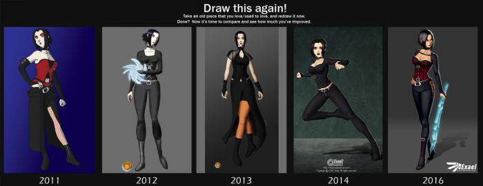 Draw This Again 2016 by Exael-X