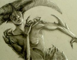 Demoness by quickmind