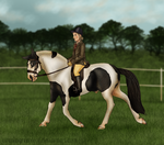OHHT 2014 - EAE Wall and Piece - Dressage by ElreniaGreenleaf