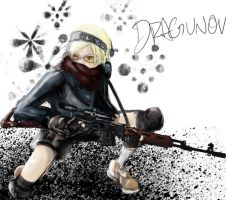 Dragunov by theworldjoker