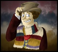 4th Doctor by InvaderShego