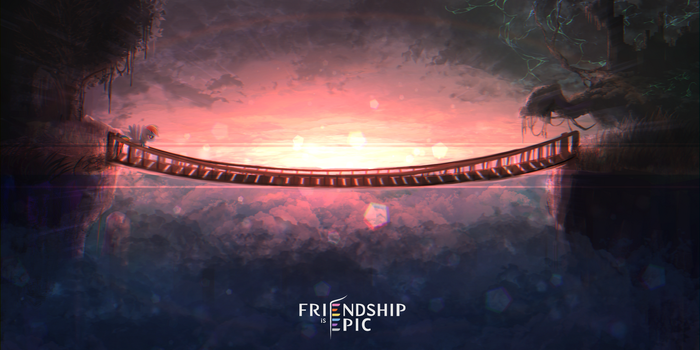 Friendship is Epic:Concept art 3 by coma392