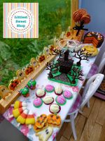 Halloween 2014 miniature collection by LittlestSweetShop