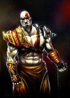 Kratos by taylorweaved