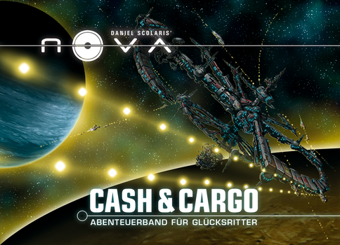 NOVA: CASH AND CARGO Cover by TheQuitter