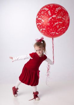 The Red Balloon 8 by deathbycanon-stock