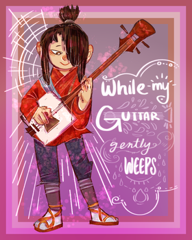 while my guitar gently weeps by purikins