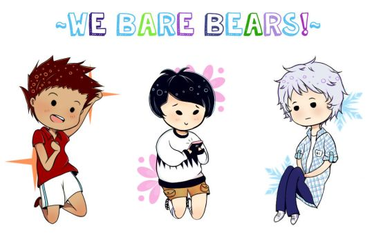 We Bare Bears Hooman by kurokette