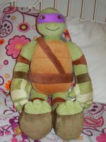 My Donatello Pillow Buddy by FlowerPhantom