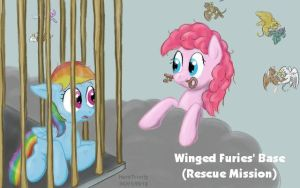 Winged Furies - Rescue Mission by HareTrinity