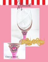 Healing Escalation Wine Glass by ForesakenFaerie