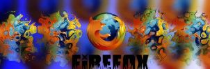 Firefox blue Abstract by Pluberus