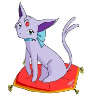 Espeon- for  contest by wolfspiritsd