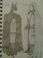 Batman and Spoiler by Hidavalentinwar