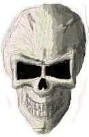 Just a plain skull by TheKrakensMaster