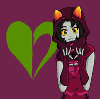 Rogue of Heart (MS Paint) by RadiaNerale