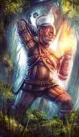 The Witcher 3 - Geralt of Rivia by AIM-art