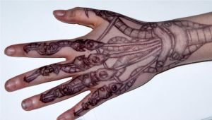 Robot hand of epic boredom by Caslen