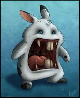 Psychotic Bunny by Sythgara