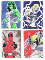 Sketch Cards 1 by JediDad