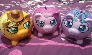 Three Little Pony Piggies by FuzzBird