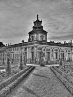 Tower Palace in Wilanow by HeretyczkaA