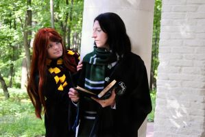 Severus Snape and Lily Evans by Matsu-Sotome