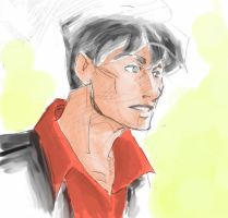 Dylan Dog Color by Aegle