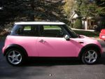 PINK mini cooper Part DOS by rockchic06