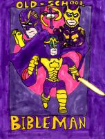 Old School Bibleman by SonicClone
