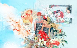 Rihanna Collage by Antivist-xo